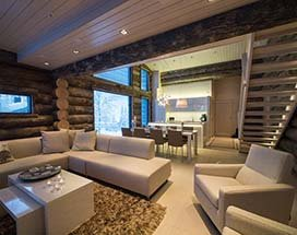Lapland vakantie in moderne en luxe Ruka Villa | Voigt Travel