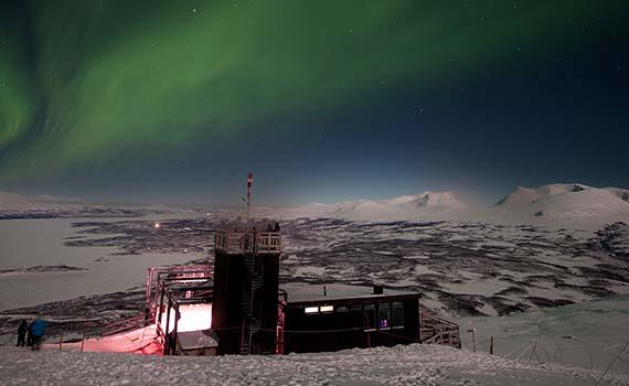 winterreizen in Zweeds Lapland