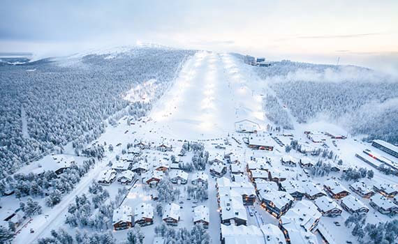 levi weekend lapland