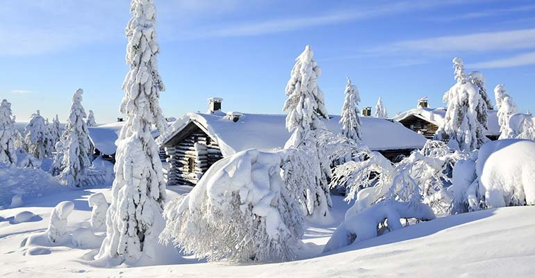 lapland in januari