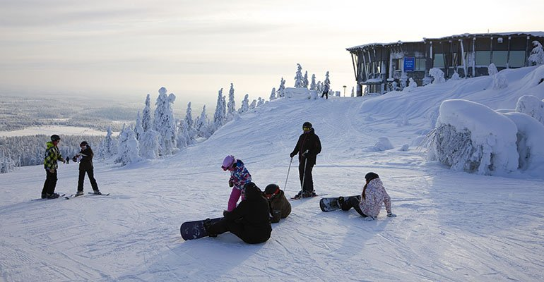 wintersport iso syote lapland